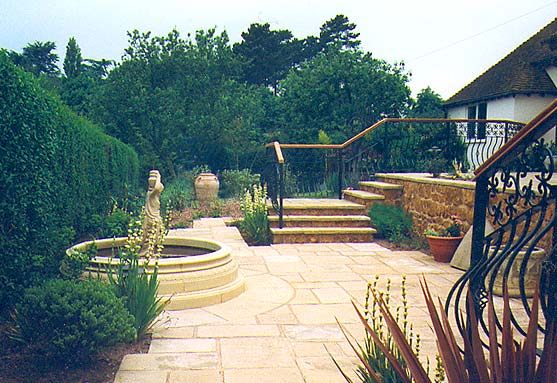 Gardens By Design Project Example Italian Style Garden